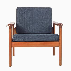 Vintage Danish Armchair by Sven Ellekaer for Komfort