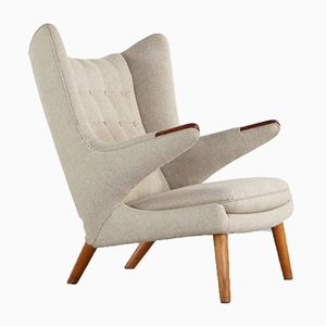 Model AP90 Papa Bear Easy Chair by Hans J. Wegner for AP Stolen, 1951