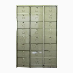 Vintage Cabinet with 24 Compartments from Strafor
