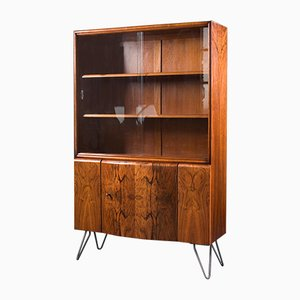 Butterfly Walnut Drinks Cabinet, 1960s
