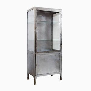 Polish Metal Medical Cabinet, 1950s