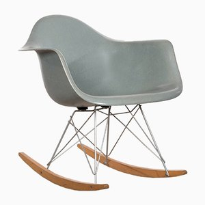 Sedia a dondolo RAR di Charles & Ray Eames per Herman Miller, anni '60