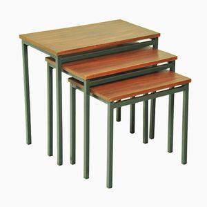 Mid-Century Teak Nesting Tables