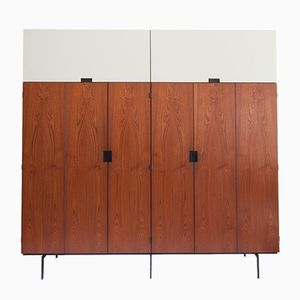 KU10 Japanese Series Teak Wardrobe by Cees Braakman for Pastoe, 1950s