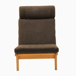 Danish GE 375 Oak Lounge Chair by Hans J. Wegner for Getama, 1960s