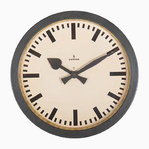 Train Station Clock from Siemens & Halske, 1950s