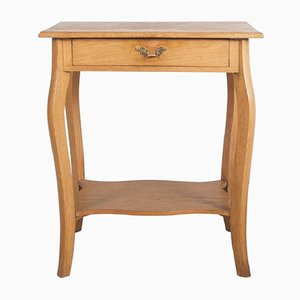 Small Oak Console Table, 1930s