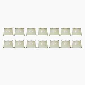Bolla Decken- oder Wandlampen von Elio Martinelli für Martinelli Luce, 1960er, 14er Set