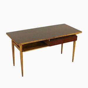 Italian Maple & Beech Desk, 1950s