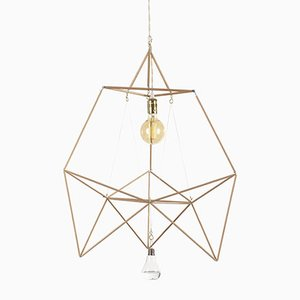 Snow Drop Wood Sticks Modular Lamp System by Nicolas Brevers for Gobo Lights