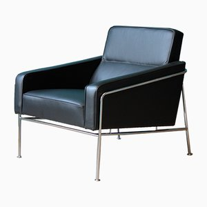 Mid-Century 3300 Lounge Chair by Arne Jacobsen for Fritz Hansen