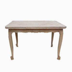 Ausziehbarer Esstisch aus Gebleichtem Eichenholz, 1950er