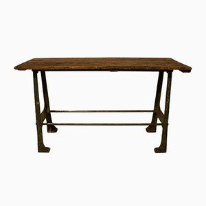 Vintage English Industrial Desk