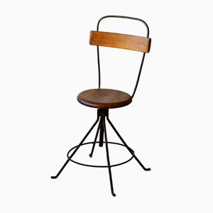 Industrial Swivel Chair, 1950s
