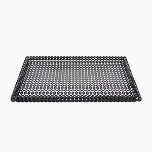 Rectangular Perforated Metal Tray by Mathieu Matégot, 1950s