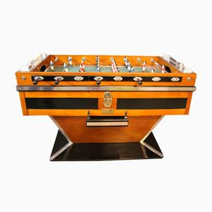 Vintage French Foosball Table from a Parisian Café