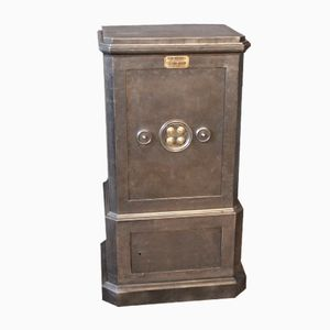 Black Steel and Iron Safe from Dubois, 1900s