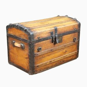 Antique French Wooden Crate
