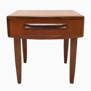 Mid-Century Vintage Fresco Bedside Table Side with Drawer by Victor Wilkins for G-Plan