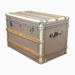 French Vintage Trunk, 1920s
