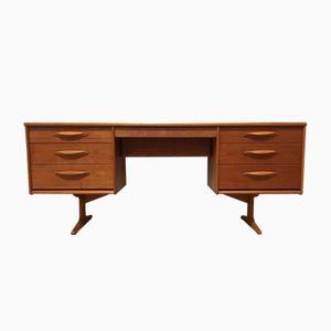 Mid-Century Teak Desk by Frank Guille for Austinsuite, 1960s