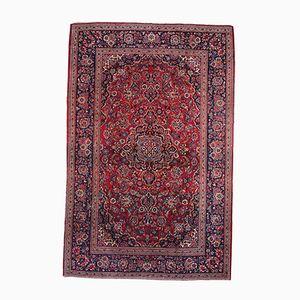 Persischer Handgeknüpfter Vintage Kashan Teppich, 1920er