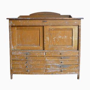 Vintage Painter's Cabinet