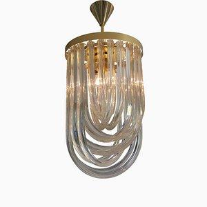 Mid-Century Modern Murano Glas Deckenlampe