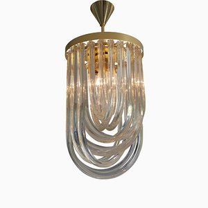 Mid-Century Modern Murano Glass Ceiling Light
