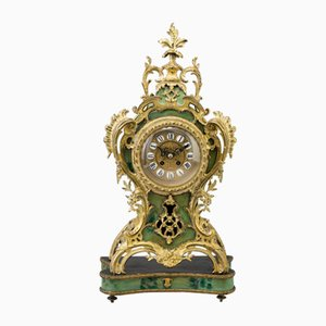 Antique Mantle Clock by Fine Gustav Becker