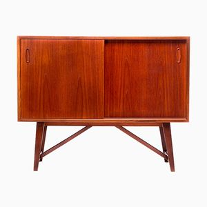 Vintage Danish Small Teak Sideboard