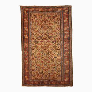 Antiker Persischer Kurdischer Handgeknüpfter Teppich, 1870er