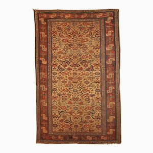 Antique Persian Kurdish Handmade Rug, 1870s