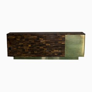Tiger Eye Sideboard by Franco Mariotti for Edizioni Flair