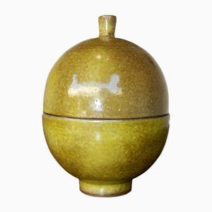 Französisches Keramikgefäß von Jacques und Dani Ruelland, 1950er