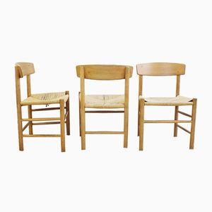 Vintage Stühle von Børge Mogensen, 6er Set