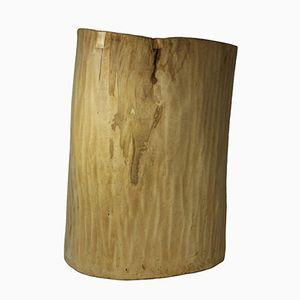 Großes Holz Gefäß, 19. Jh.