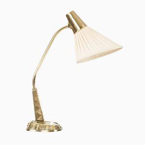Lampada da tavolo in ottone di Sonja Katzin per ASEA, anni '50