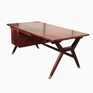 Rosewood Desk by Ico Parisi for MIM, 1955
