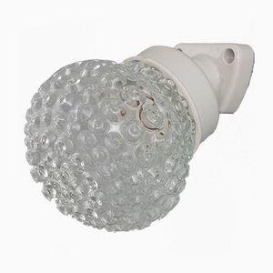 Tschechische Vintage Wandlampe, 1960er