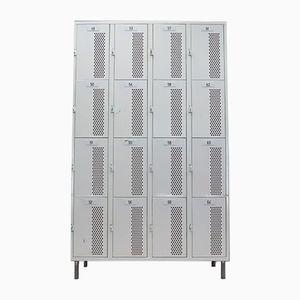 Industrial Large Metal Lockers, 1960s