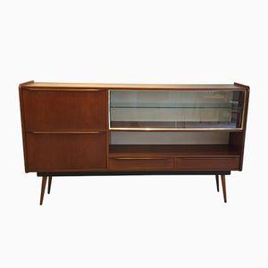 Vintage Sideboard with Display Case, 1960s