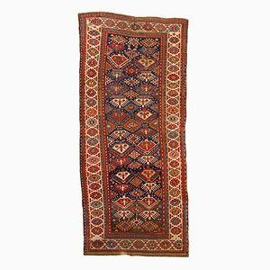 Antique Russian Kazak Handmade Rug, 1880s