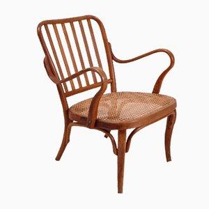 Vintage A752 Armlehnstuhl von Josef Frank für Thonet