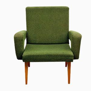 Grüner Vintage Sessel von Jitona