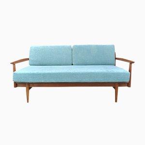 Dänisches Drei-Sitzer Teak Sofa, 1960er
