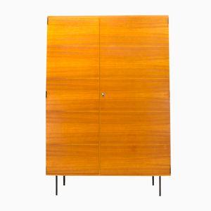Teak Schrank von Günter Renkel für REGO Mobile Möbel, 1960er