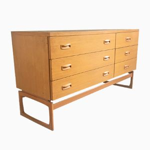 Mid-Century Oak Chest of Drawers from G-Plan
