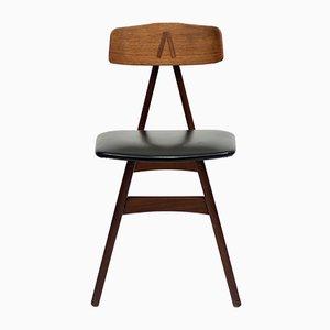 Skandinavischer Mid-Century Stuhl aus Teak, 1950er