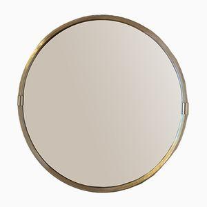Mid-Century Round Mirror, 1970s
